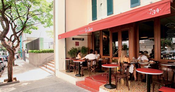 Le jazz brasserie jardins restaurantes franceses em s o for Brasserie le jardin
