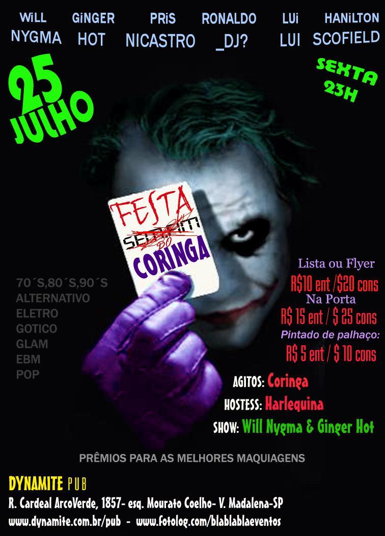 Amado Balada CERTA - Festas :: Festa do Coringa AO34