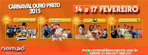Carnaval de Ouro Preto 2015