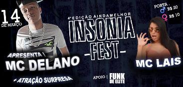 INSONIA FEST 4° EDIÇÃO | MC DELANO & MC LAIS
