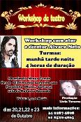 Workshop de Teatro com o Ator e Diretor Alvaro Net